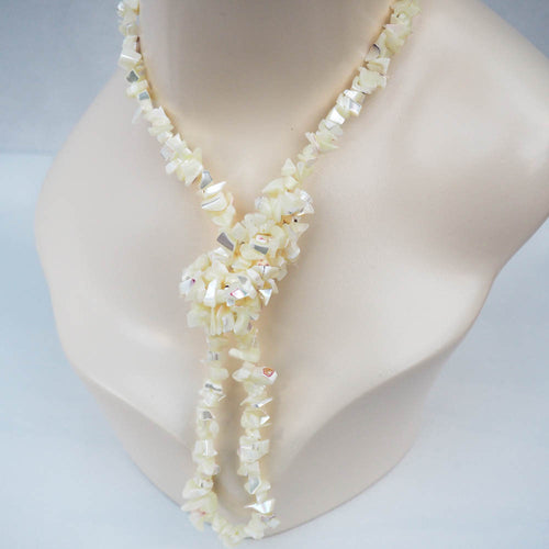 Necklace - Mother of Pearl Chips (Off White)