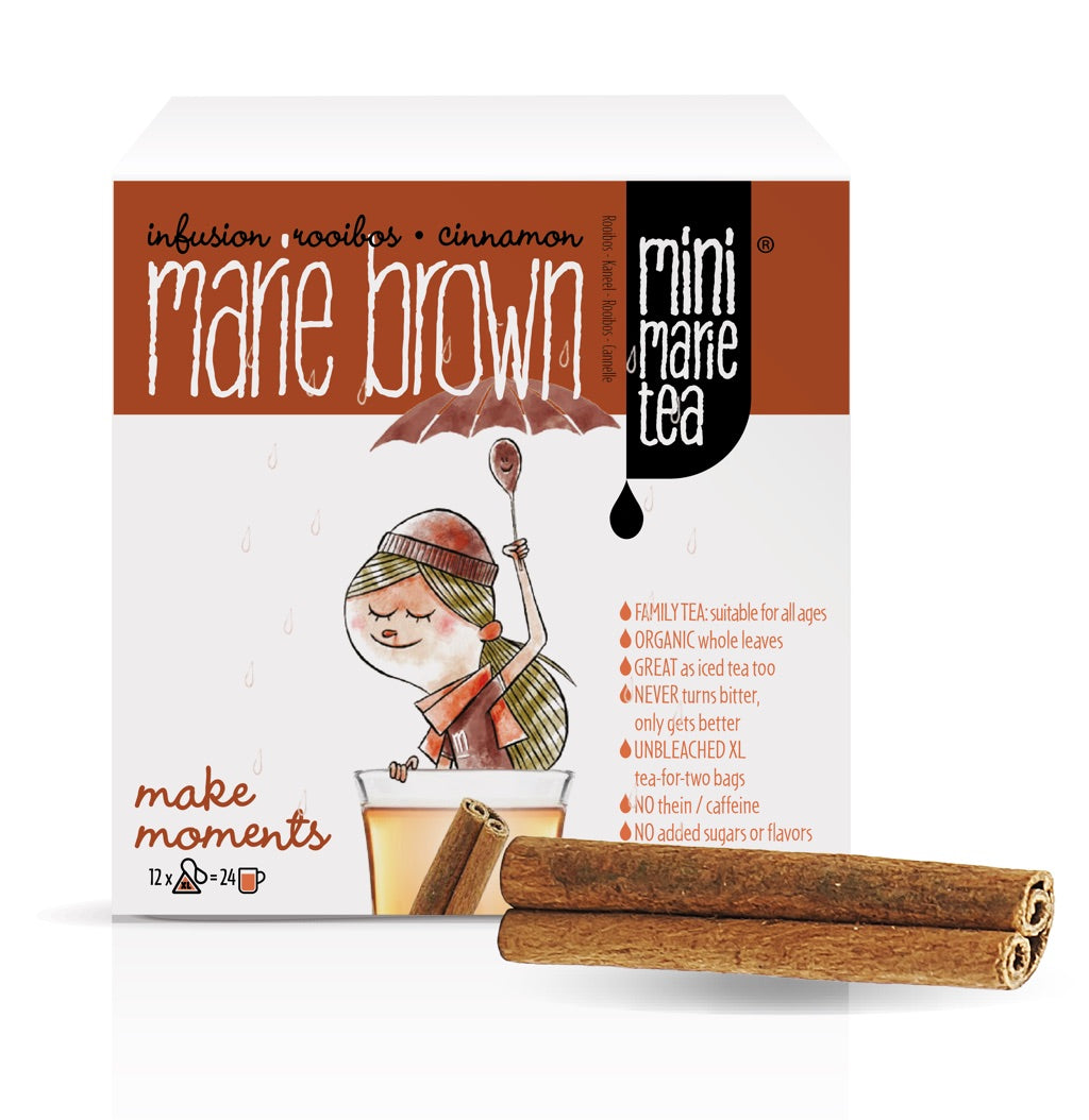 Marie Brown - 12 XL Tea bags