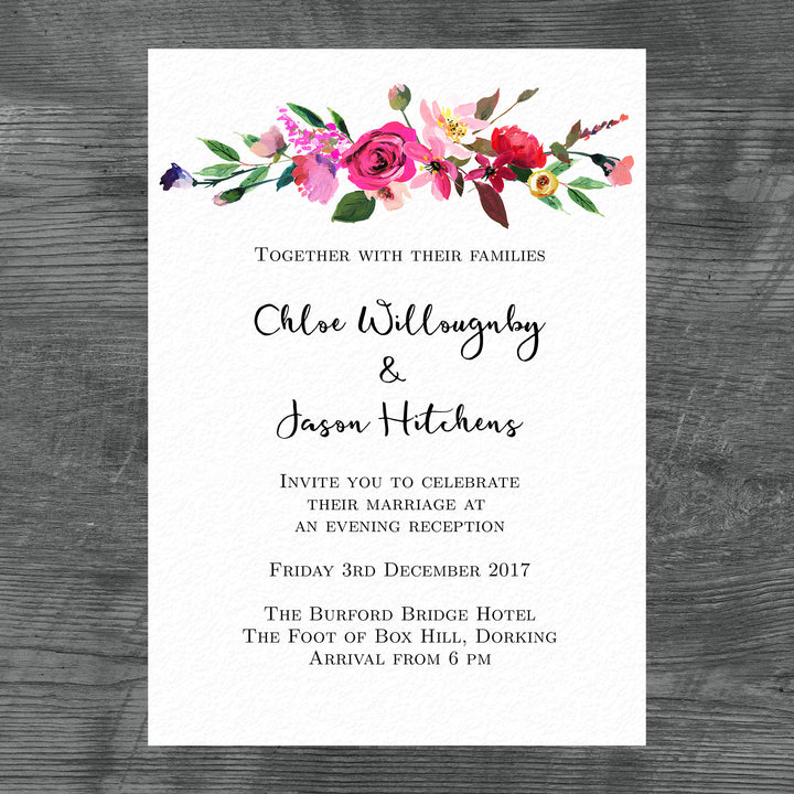 Chloe Evening Invitation Package – The Organised Bride