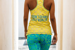 Aman.vas sustainable yoga outfits made from recycled PET bottles