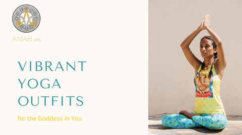 Lookbook Aman.vas vibrant Yoga outfits