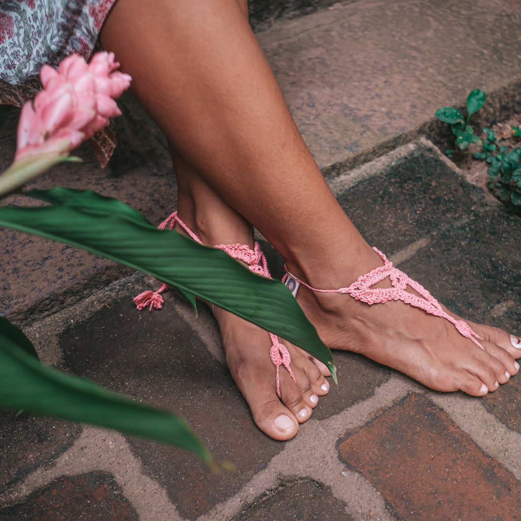 Barefoot Sandals pink colour