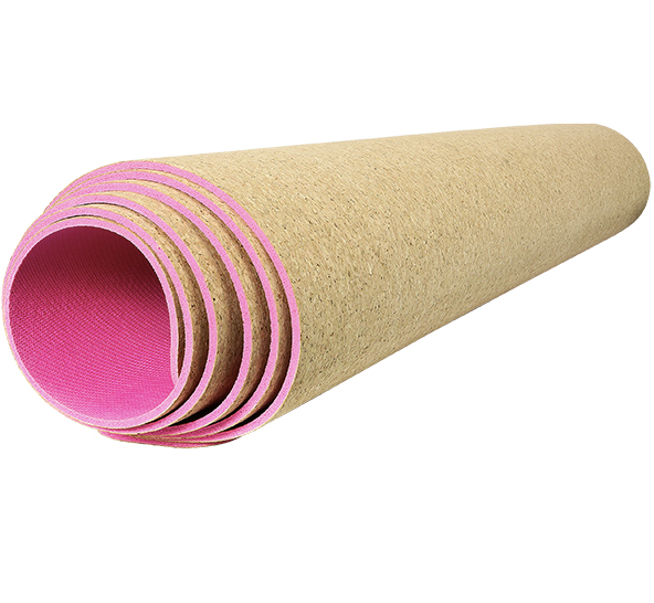 Natural cork non slip Yoga mat