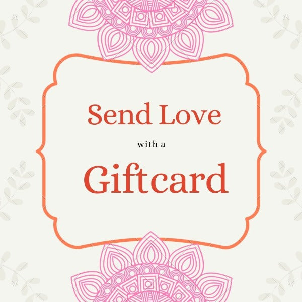 Send love with a giftcard