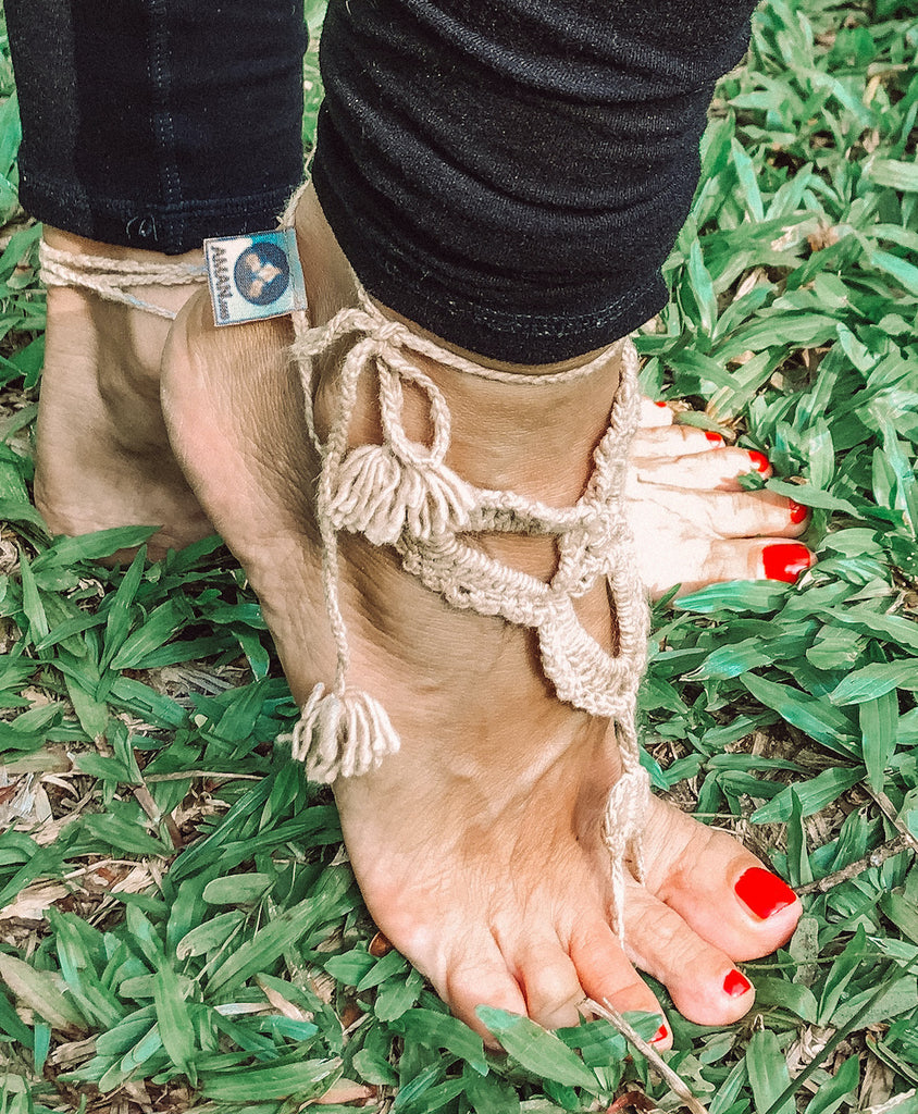 Yoga accessories Barefoot Sandals