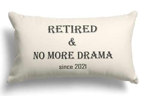 No More Drama Funny Retirement Gifts For Women