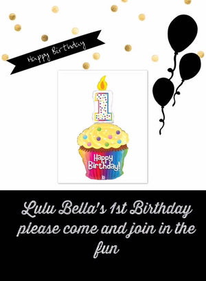LULU BELLAS 1ST BIRTHDAY