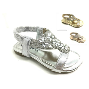 Sam Infants Diamante Sandals - Lulu Bella Boutique