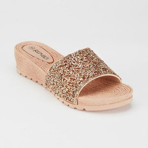Janine Glitter Jelly Shoe - Lulu Bella Boutique