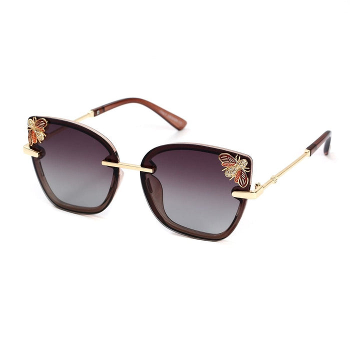 Lily Large Jewelled Bee Sunglasses