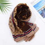 Lois LV Inspired Scarf - Lulu Bella Boutique