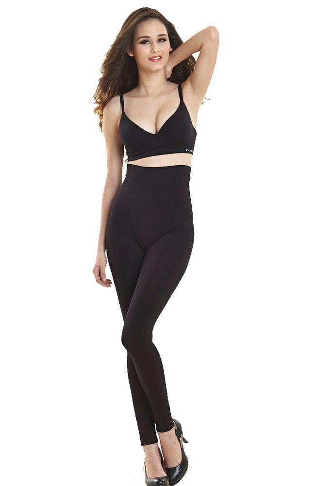 Jeanie High Waist Slimming Leggings With Tummy Support in Display Box