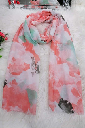 Carol Cloud Detail Scarf - Lulu Bella Boutique
