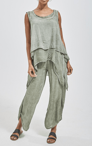 Linda Linen Top & Trousers Co-Ords