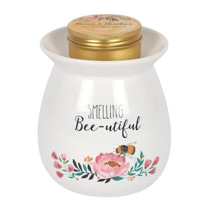 Large Smelling Bee-utiful Wax Burner Gift Set - Lulu Bella Boutique