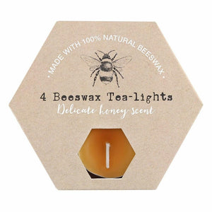 Set of 4 Beeswax Tealights - Lulu Bella Boutique