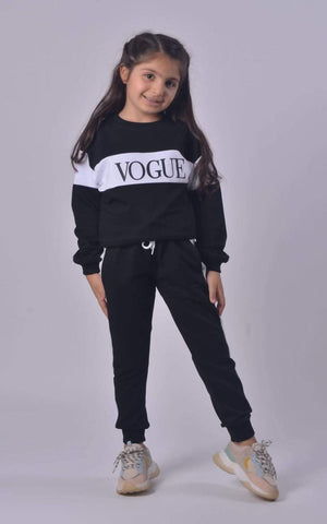 Carlie Childrens Vogue Loungewear Set - Lulu Bella Boutique