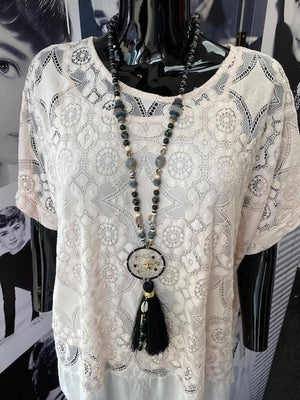 Damia Dreamcatcher Festival Necklace - Lulu Bella Boutique