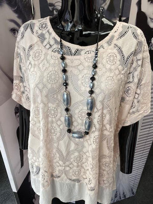 Milla Multi Beaded Necklace - Lulu Bella Boutique