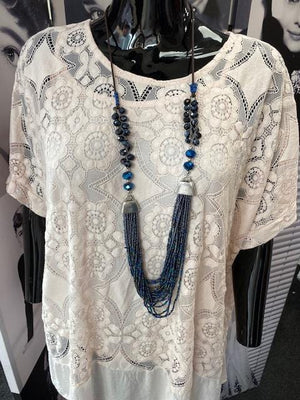Tilly Tiered Necklace - Lulu Bella Boutique