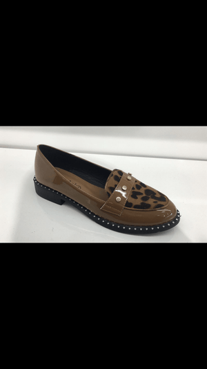 Toria Leopard Print Loafers - Lulu Bella Boutique