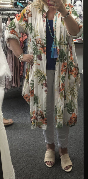 Darcy Floral Duster Jacket