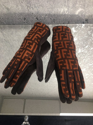 Fendi Inspired Gloves