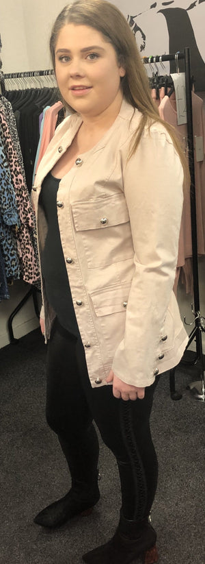 Molly Military Jacket - Lulu Bella Boutique