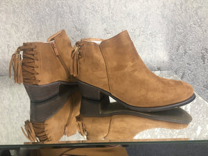 Peyton Tassel Back Ankle Boots
