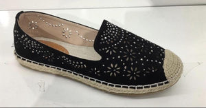 Kayleigh Diamante Detail Loafers - Lulu Bella Boutique