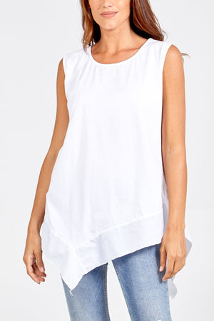 Amira Asymmetric Top - Lulu Bella Boutique