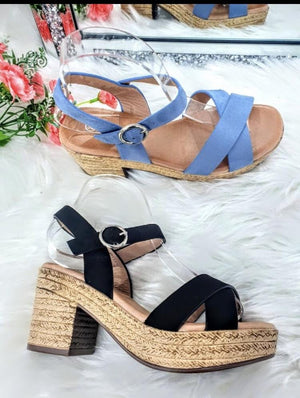 Summer Wedges - Lulu Bella Boutique