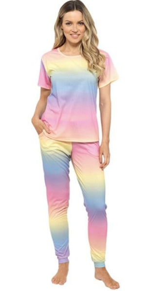 Girls & Ladies Rainbow PJ's - Lulu Bella Boutique