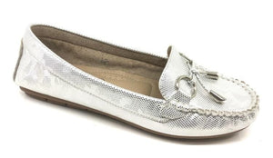 Lucy Snake Print Buckle Detail Loafers - Lulu Bella Boutique