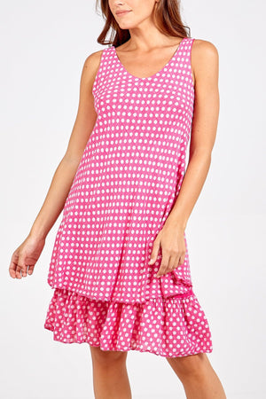 Polly Polka Dot Dress - Lulu Bella Boutique