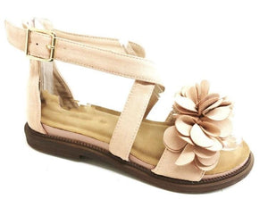 Ruby Floral Gladiator Style Sandals - Lulu Bella Boutique