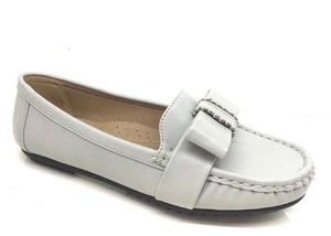 Dawn Bow Detail Loafers - Lulu Bella Boutique