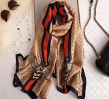 Gucci Inspired Bee Scarf - Lulu Bella Boutique
