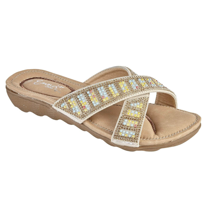 Shona Diamante Detail Sliders