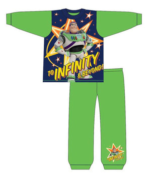 Boys Buzz Lightyear 'To Infinity and Beyond' PJ's - Lulu Bella Boutique
