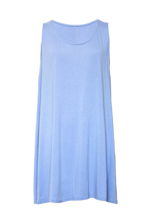 Brandy Basic Sleeveless Swing Dress - Lulu Bella Boutique