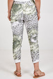 Miley Abstract Leopard Print Magic Trousers - Lulu Bella Boutique