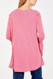 Roxanne Bell Sleeve V-Neck Jumper - Lulu Bella Boutique