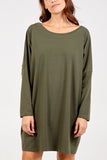 Selena Plain Tunic Dress - Lulu Bella Boutique
