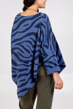 Zara Zebra Print Long Sleeve Top - Lulu Bella Boutique