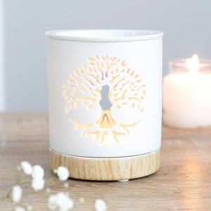 Tree of Life Cut Out Oil Burner
