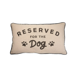 Reserved for Dog Cushion - Lulu Bella Boutique