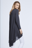 Stand out from the crowd with this beautiful free size chiffon back top in grey