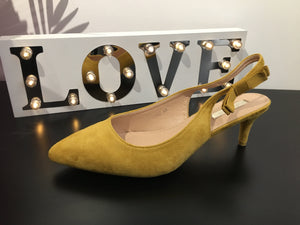 Sling Back Kitten Heels - Lulu Bella Boutique