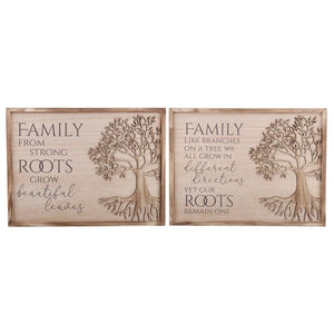 40cm Tree of Life Family Wall Plaque - Lulu Bella Boutique